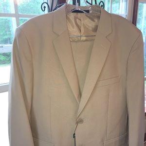 Other - Braveman 2-Piece Suit - Tan 42R 36W Tan defective
